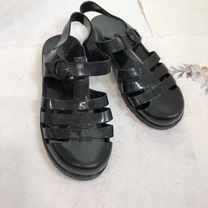 d79931f44239a1 American Apparel Jelly Plastic Sandals
